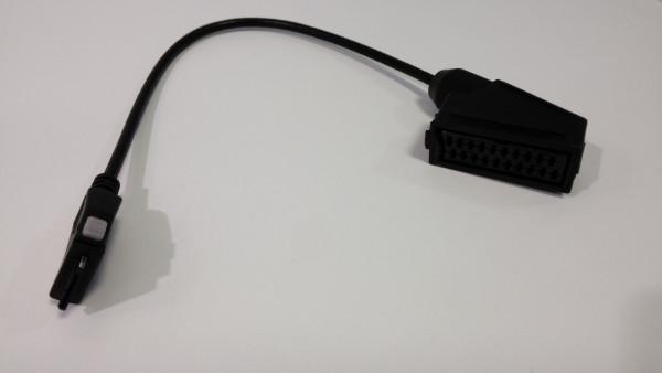 Adapter Mini-AV auf Scart